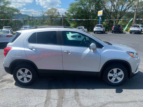 2018 Chevrolet Trax for sale at MAGNUM MOTORS in Reedsville PA