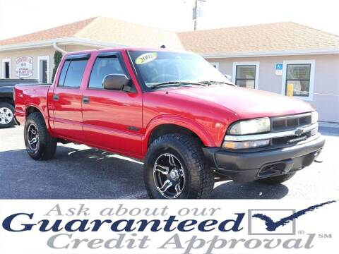 2002 Chevrolet S-10 for sale at Universal Auto Sales in Plant City FL
