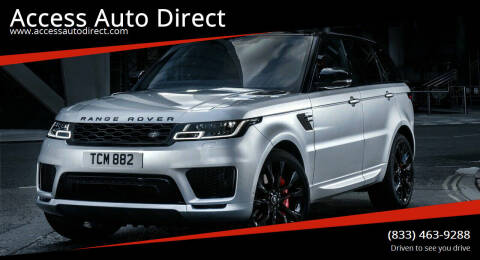 2019 Land Rover Range Rover for sale at Access Auto Direct in Baldwin NY