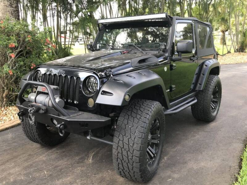 2007 Jeep Wrangler for sale at Hardy Automotive in Hollywood FL