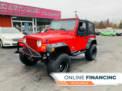 2006 Jeep Wrangler for sale at LUXURY IMPORTS AUTO SALES INC in North Branch MN