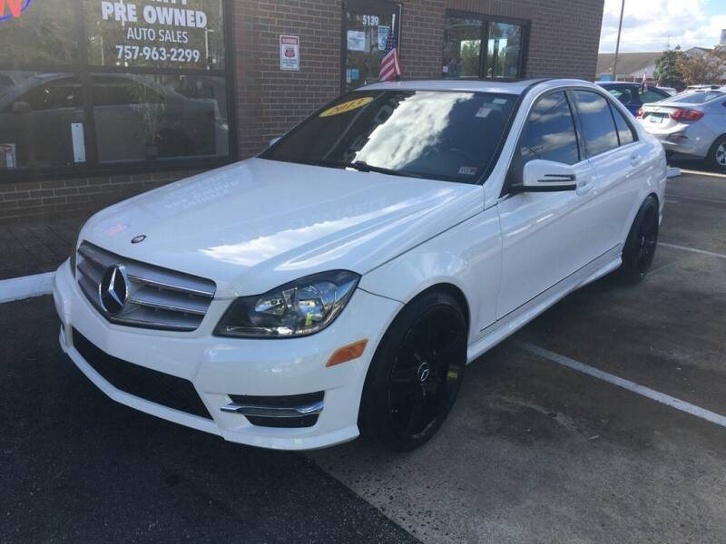 2013 Mercedes-Benz C-Class for sale at Bankruptcy Car Financing in Norfolk VA