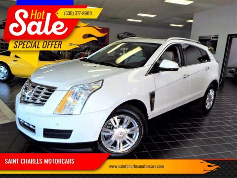2014 Cadillac SRX for sale at SAINT CHARLES MOTORCARS in Saint Charles IL