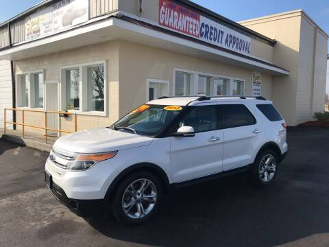 2013 Ford Explorer for sale at Suarez Auto Sales in Port Huron MI