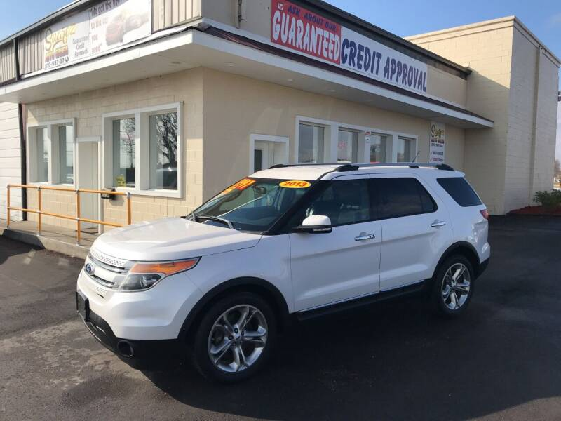 2013 Ford Explorer for sale at Suarez Auto Sales in Port Huron MI