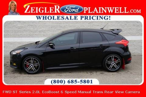 2017 Ford Focus for sale at Zeigler Ford of Plainwell- Jeff Bishop in Plainwell MI