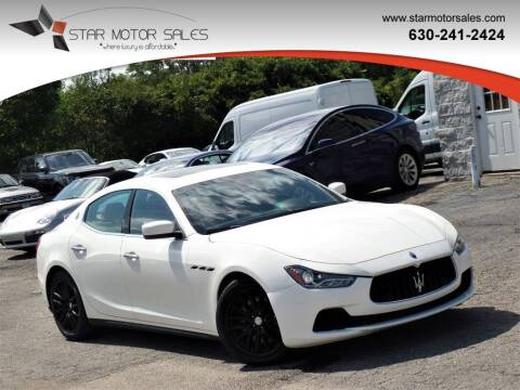 2014 Maserati Ghibli for sale at Star Motor Sales in Downers Grove IL