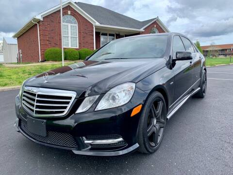2012 Mercedes-Benz E-Class for sale at HillView Motors in Shepherdsville KY