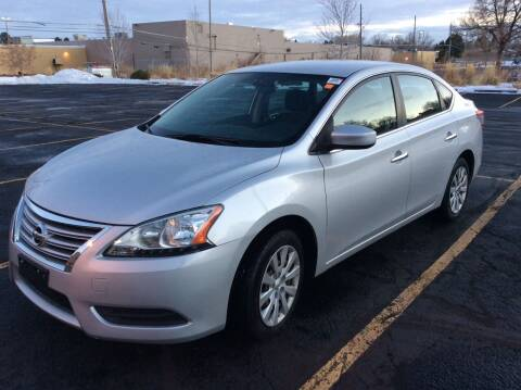 2013 Nissan Sentra for sale at AROUND THE WORLD AUTO SALES in Denver CO