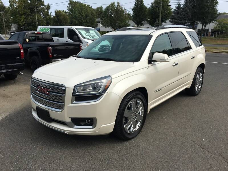 2013 GMC Acadia for sale at Candlewood Valley Motors in New Milford CT