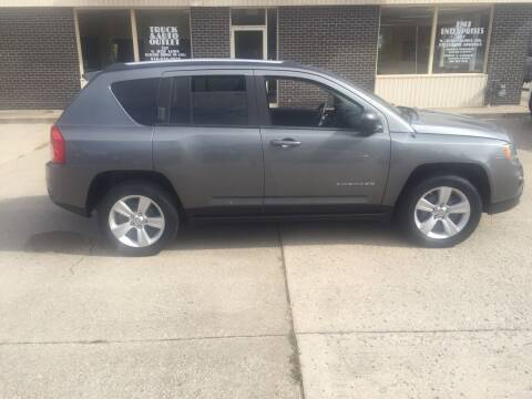 2013 Jeep Compass for sale at Truck and Auto Outlet in Excelsior Springs MO