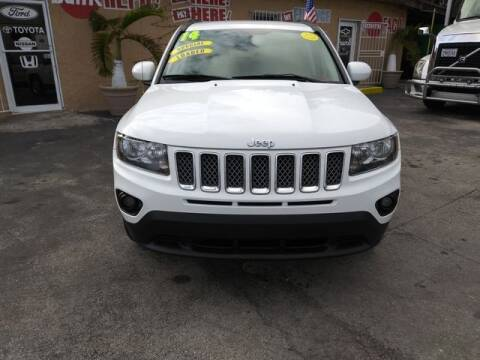 2014 Jeep Compass for sale at VALDO AUTO SALES in Miami FL