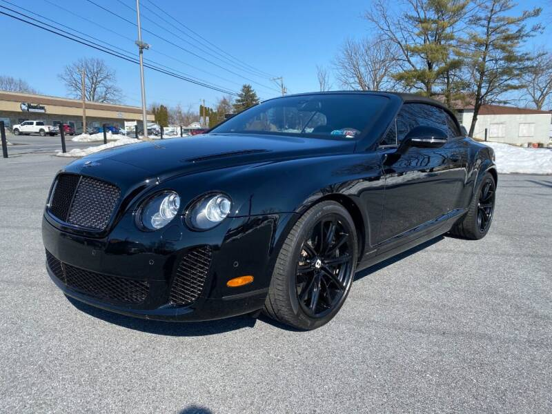 2011 Bentley Continental for sale at M4 Motorsports in Kutztown PA