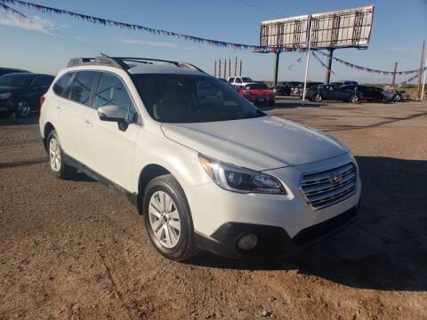 2017 Subaru Outback for sale at Bickham Used Cars in Alamogordo NM