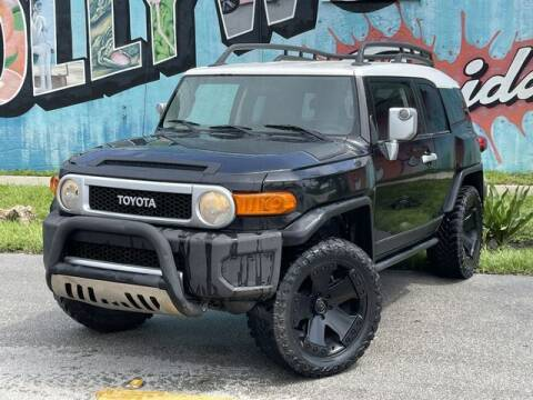 2007 Toyota FJ Cruiser for sale at Palermo Motors in Hollywood FL