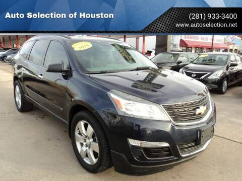 2015 Chevrolet Traverse for sale at Auto Selection of Houston in Houston TX