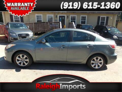 2012 Mazda MAZDA3 for sale at Raleigh Imports in Raleigh NC