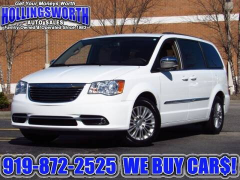 2015 Chrysler Town and Country for sale at Hollingsworth Auto Sales in Raleigh NC