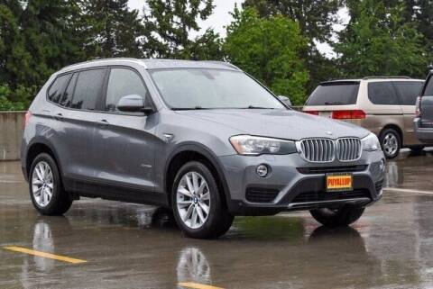2017 BMW X3 for sale at Chevrolet Buick GMC of Puyallup in Puyallup WA