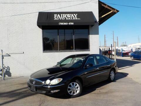 2005 Buick LaCrosse for sale at FAIRWAY AUTO SALES, INC. in Melrose Park IL