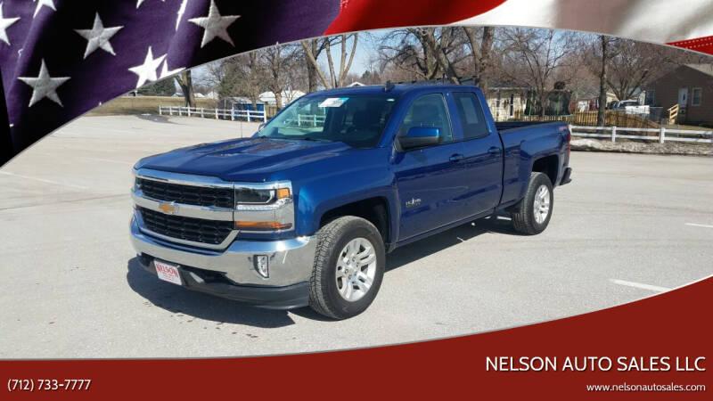 2017 Chevrolet Silverado 1500 for sale at Nelson Auto Sales LLC in Harlan IA