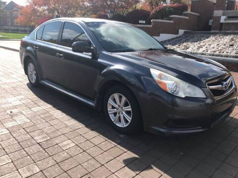 2012 Subaru Legacy for sale at Third Avenue Motors Inc. in Carmel IN
