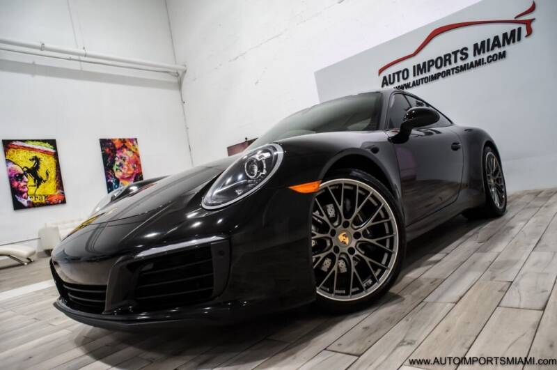 2018 Porsche 911 for sale at AUTO IMPORTS MIAMI in Fort Lauderdale FL