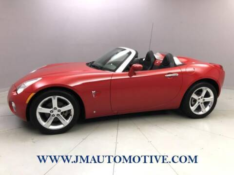 2006 Pontiac Solstice for sale at J & M Automotive in Naugatuck CT