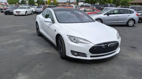 2015 Tesla Model S for sale at Silverline Auto Boise in Meridian ID