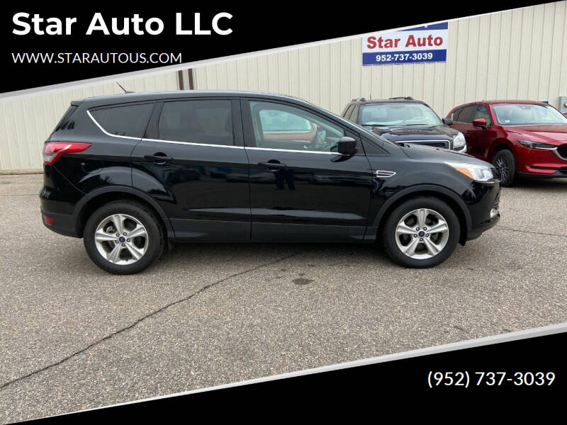 2016 Ford Escape for sale at Star Auto LLC in Jordan MN