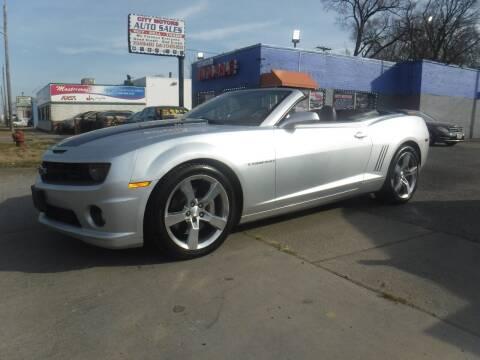2011 Chevrolet Camaro for sale at City Motors Auto Sale LLC in Redford MI
