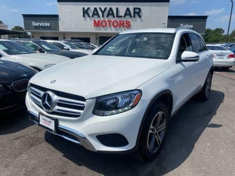 2016 Mercedes-Benz GLC for sale at KAYALAR MOTORS in Houston TX