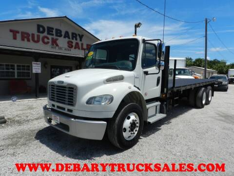 2013 Freightliner M2 TANDEM AXLE for sale at DEBARY TRUCK SALES in Sanford FL