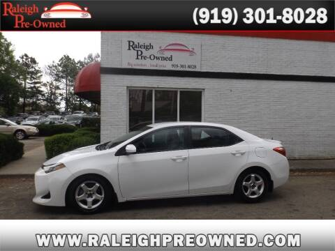 2017 Toyota Corolla for sale at Raleigh Pre-Owned in Raleigh NC