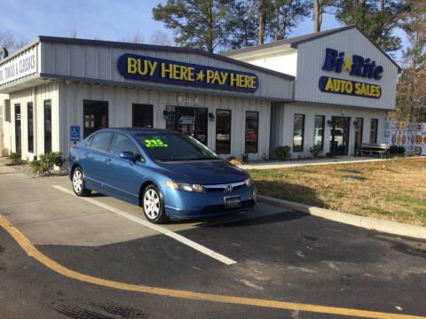 2006 Honda Civic for sale at Bi Rite Auto Sales in Seaford DE