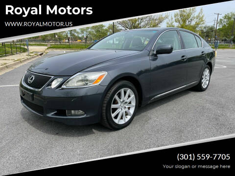 2006 Lexus GS 300 for sale at Royal Motors in Hyattsville MD
