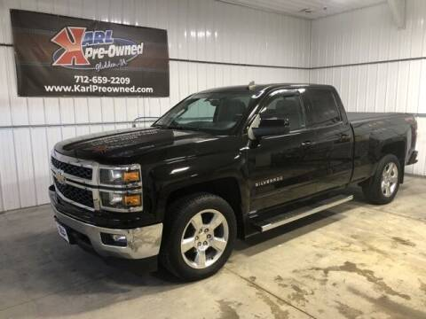 2015 Chevrolet Silverado 1500 for sale at Karl Pre-Owned in Glidden IA