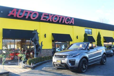 2017 Land Rover Range Rover Evoque Convertible for sale at Auto Exotica in Red Bank NJ