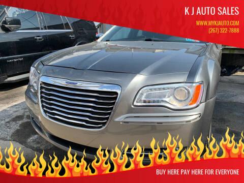 2012 Chrysler 300 for sale at K J AUTO SALES in Philadelphia PA