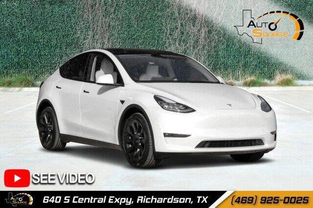 2021 Tesla Model Y for sale in Richardson, TX