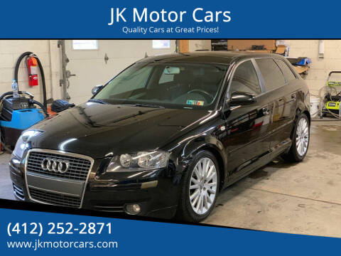 2007 Audi A3 for sale at JK Motor Cars in Pittsburgh PA