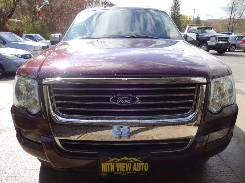 2008 Ford Explorer for sale at MOUNTAIN VIEW AUTO in Lyndonville VT