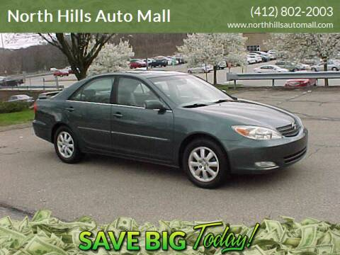 2003 Toyota Camry for sale at North Hills Auto Mall in Pittsburgh PA