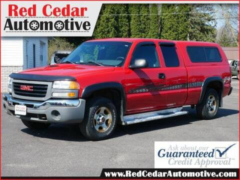 2003 GMC Sierra 1500 for sale at Red Cedar Automotive in Menomonie WI