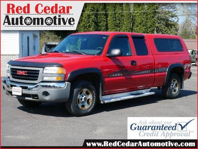 2003 GMC Sierra 1500 for sale at Red Cedar Automotive in Menomonie WI