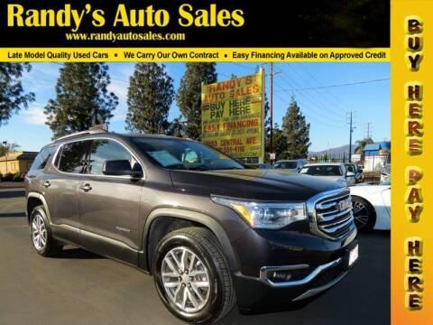 2017 GMC Acadia for sale at Randy's Auto Sales in Ontario CA