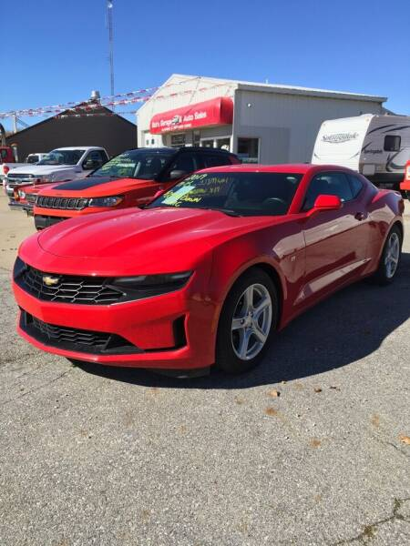 2019 Chevrolet Camaro for sale at Bob's Garage Auto Sales and Towing in Storm Lake IA
