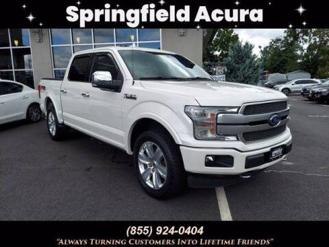 2018 Ford F-150 for sale at SPRINGFIELD ACURA in Springfield NJ