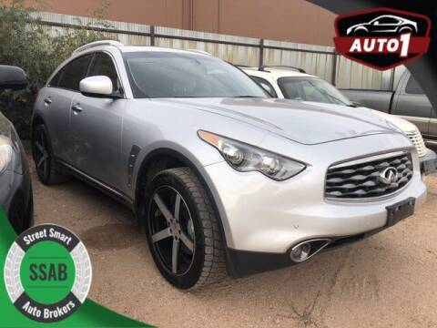 2011 Infiniti FX35 for sale at Street Smart Auto Brokers in Colorado Springs CO
