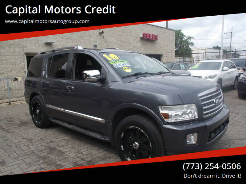 2010 Infiniti QX56 for sale at Capital Motors Credit, Inc. in Chicago IL